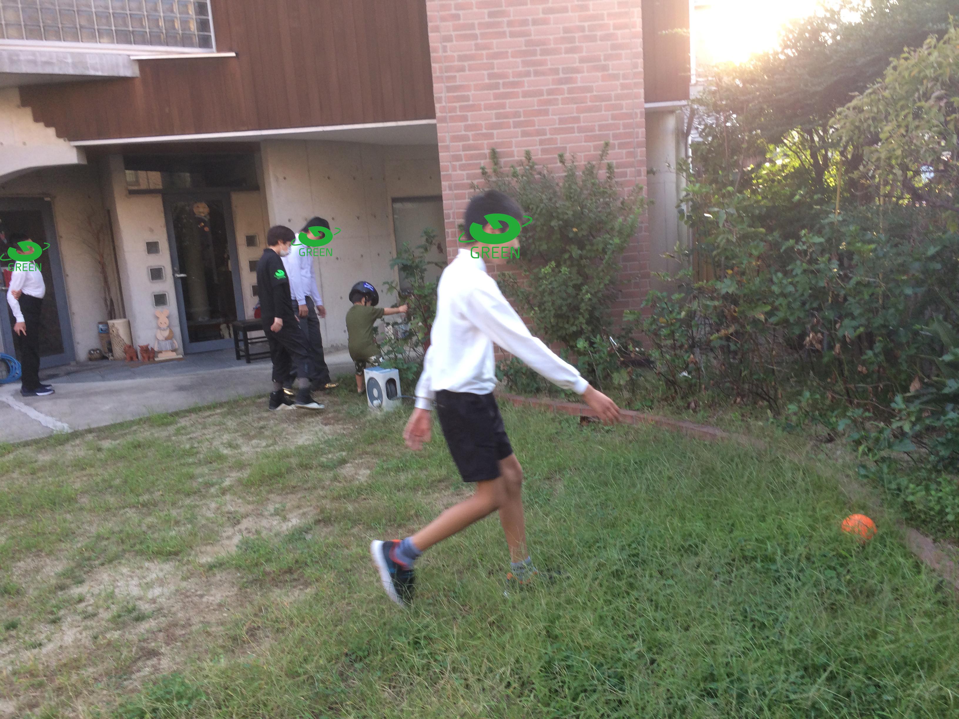 グラウンド グリーン 外遊び